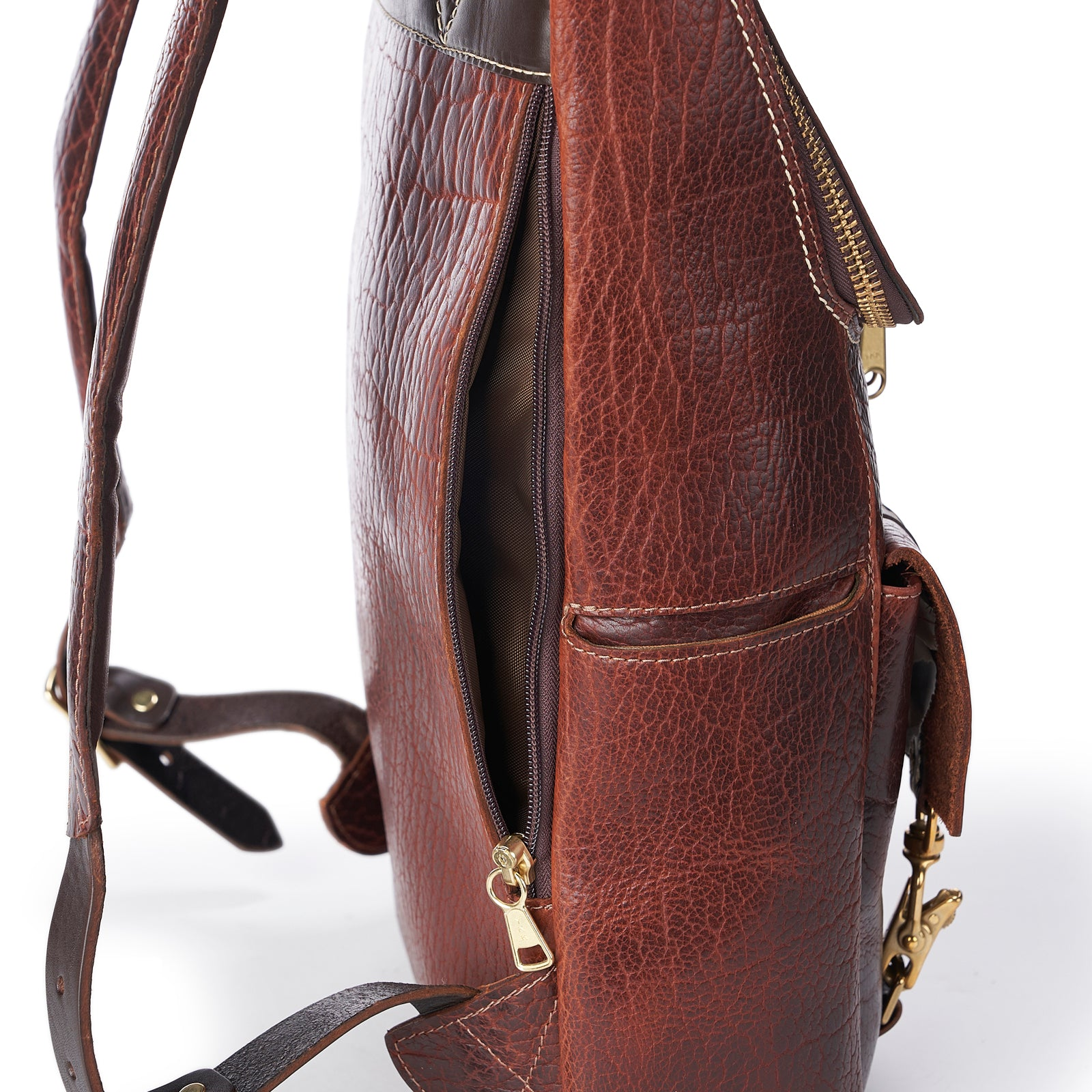 BISON REDWOOD TOP-ZIP BACKPACK
