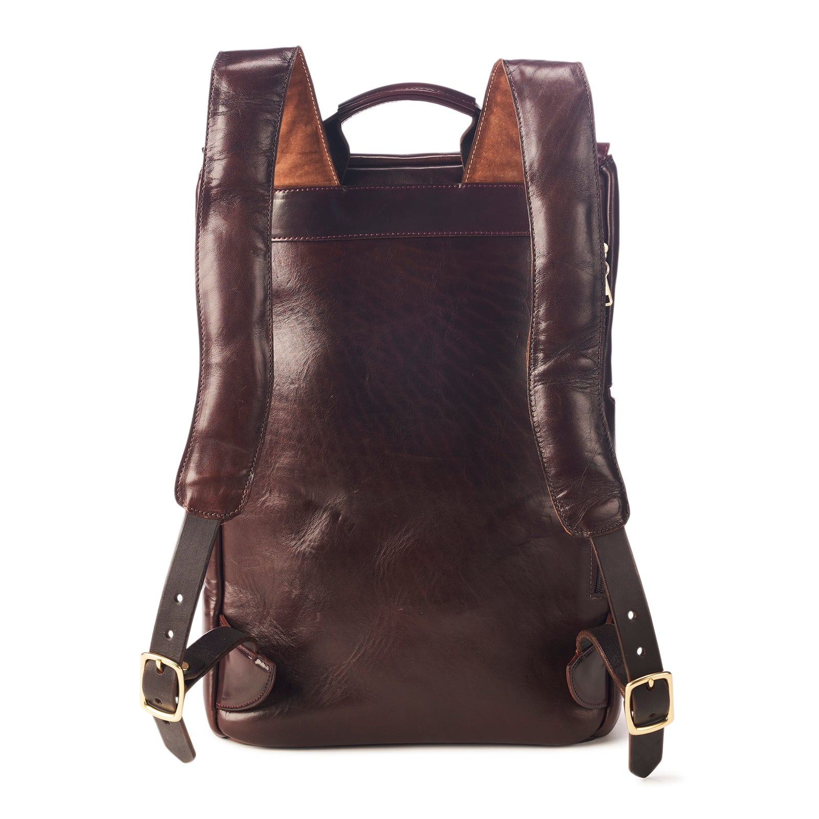 HORSEHIDE x SHELL TOP-ZIP BACKPACK