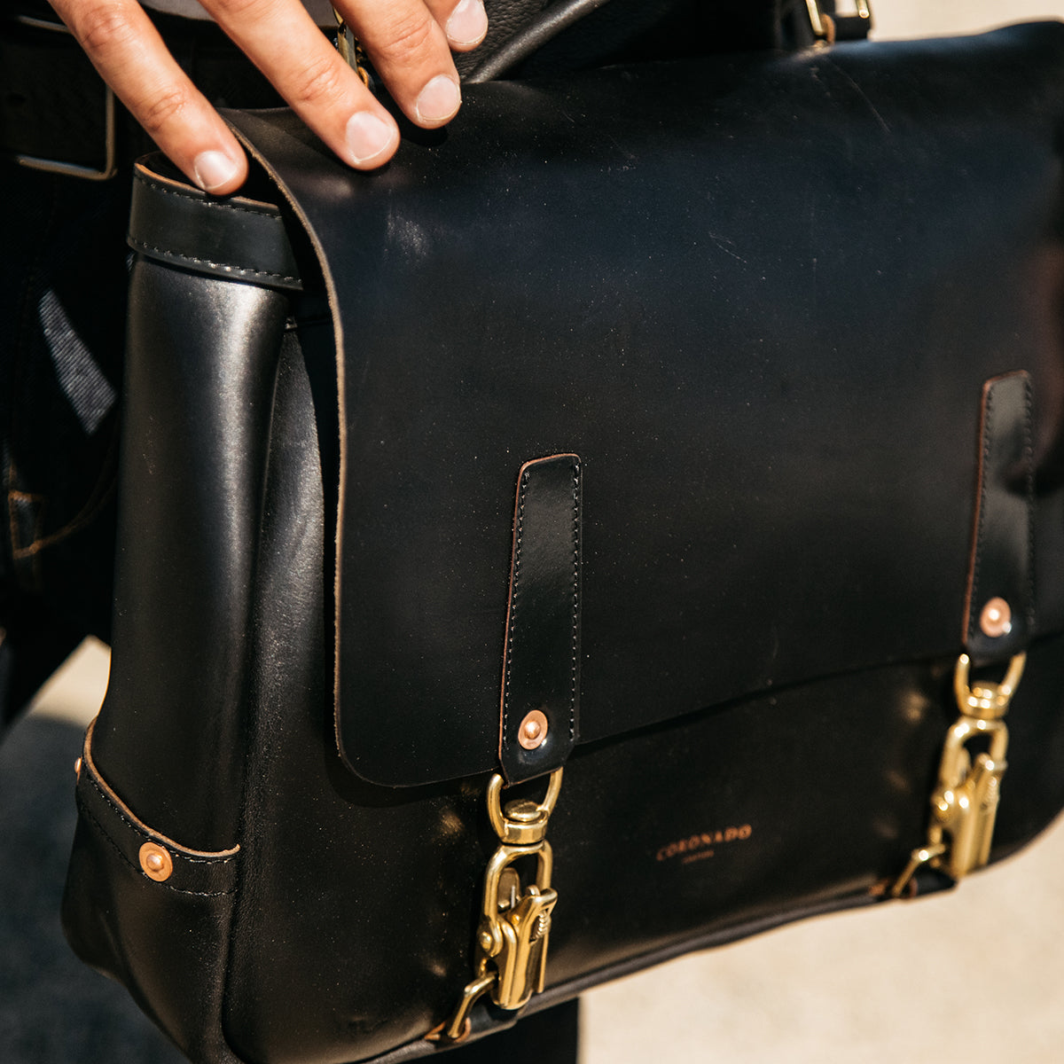 Chicago Mail Bag No. 721 (Black) IN-PRODUCTION