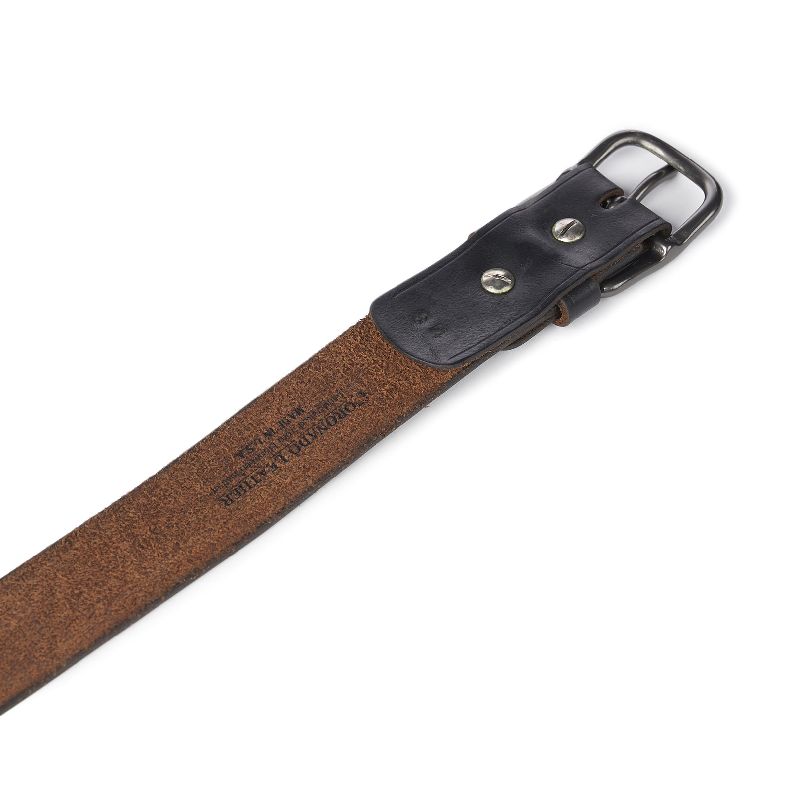 Horween Vintage Belt No. 89