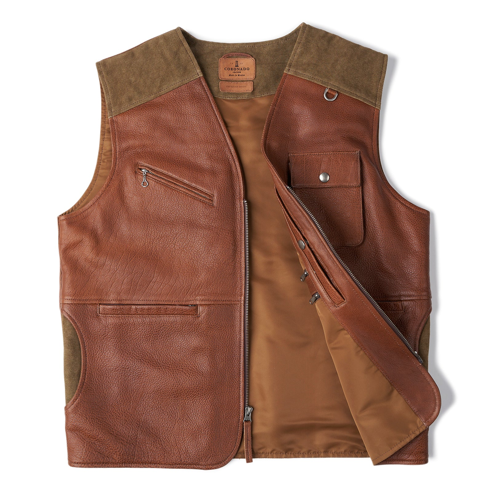 Safari Bison Travel Vest (SOLD-OUT)