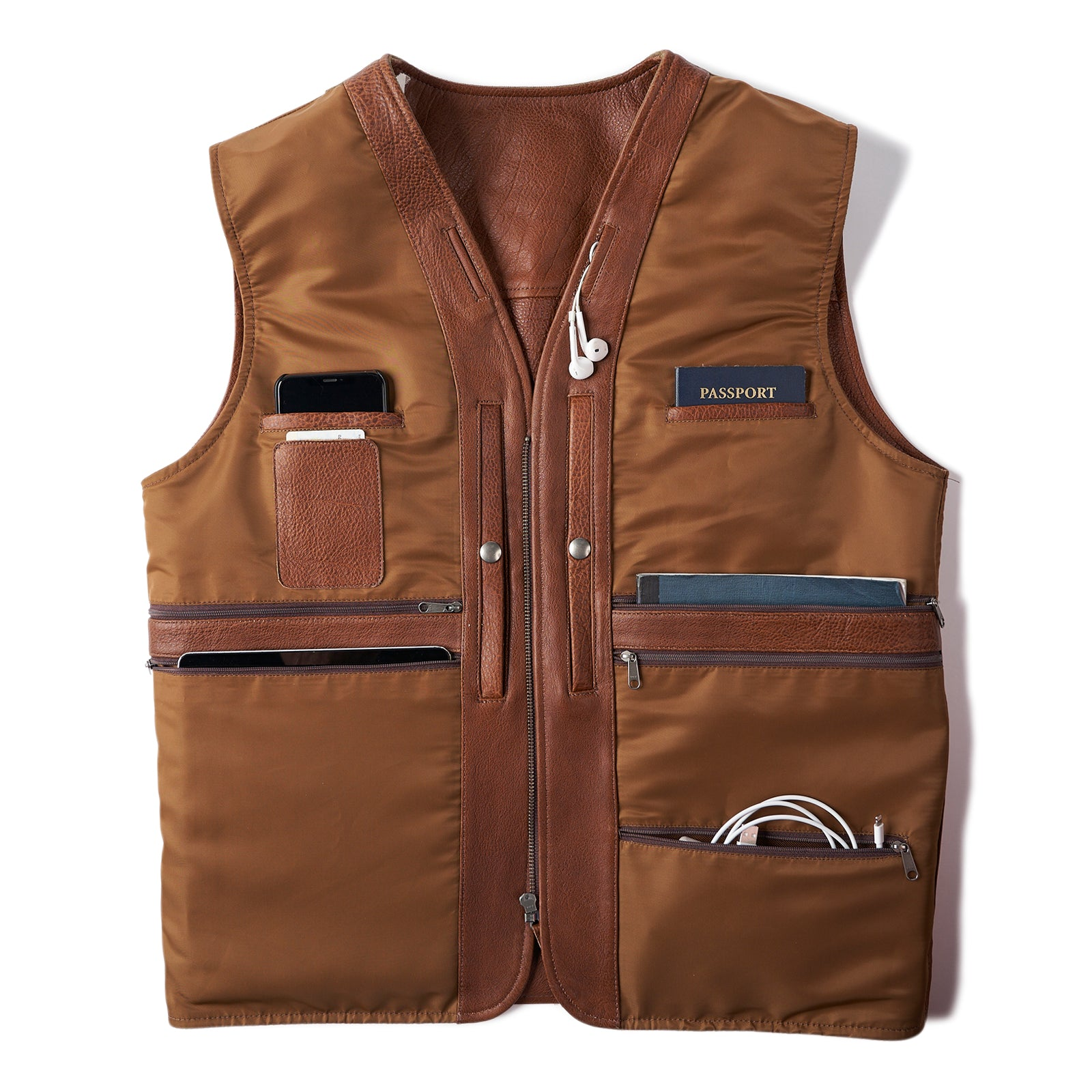 Safari Bison Travel Vest (SOLD OUT)
