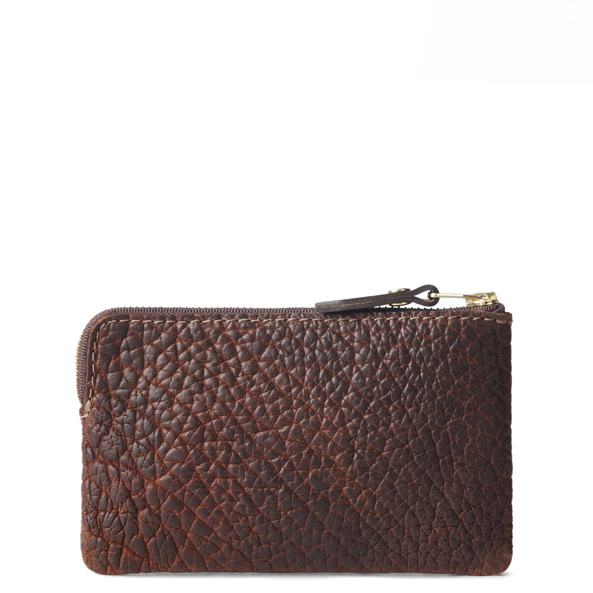 Bison Small Pouch (Brown)  #605