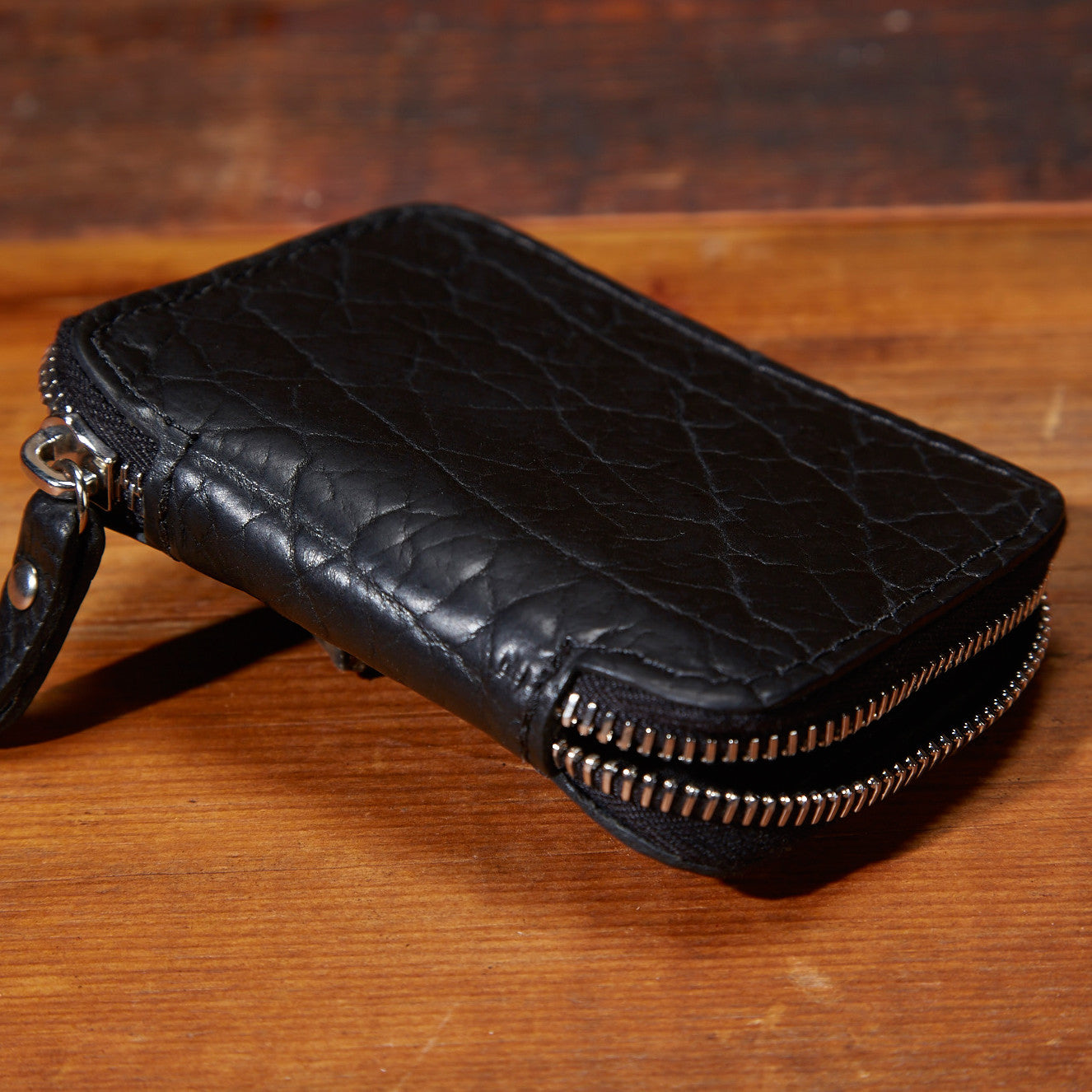 Bison Full Zip Wallet#660