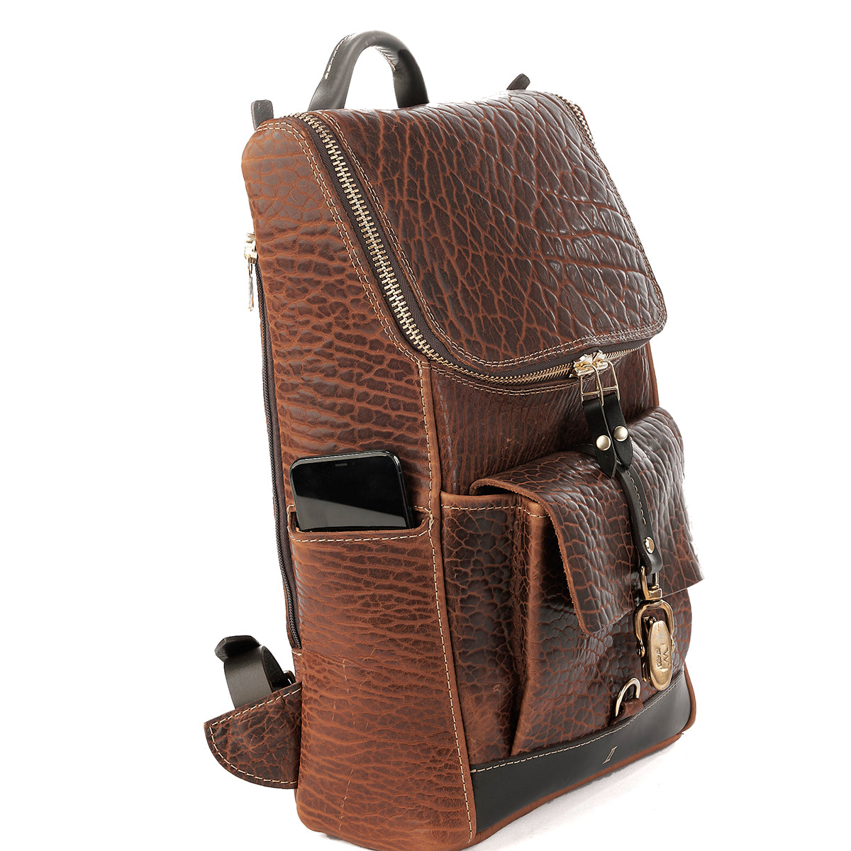 Top-Zip Bison Backpack No. 699