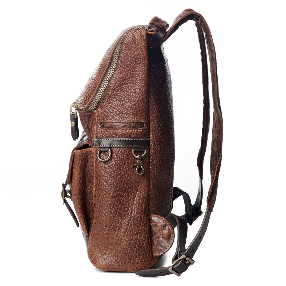 Top Zip Bison Backpack #740