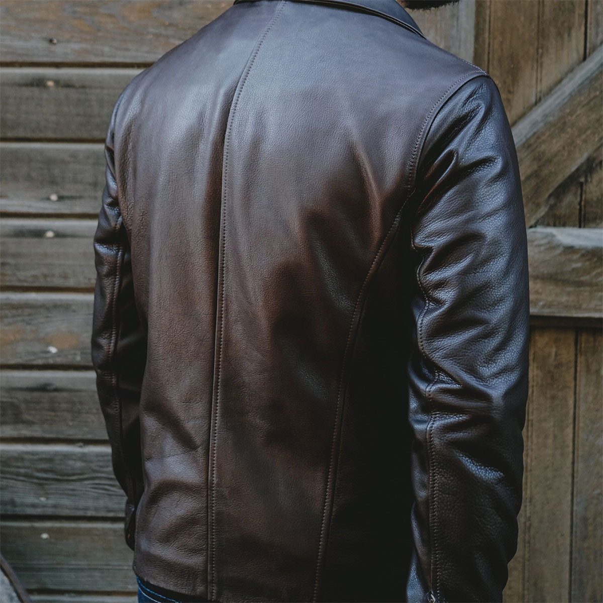 Classic Cowhide Jacket #10