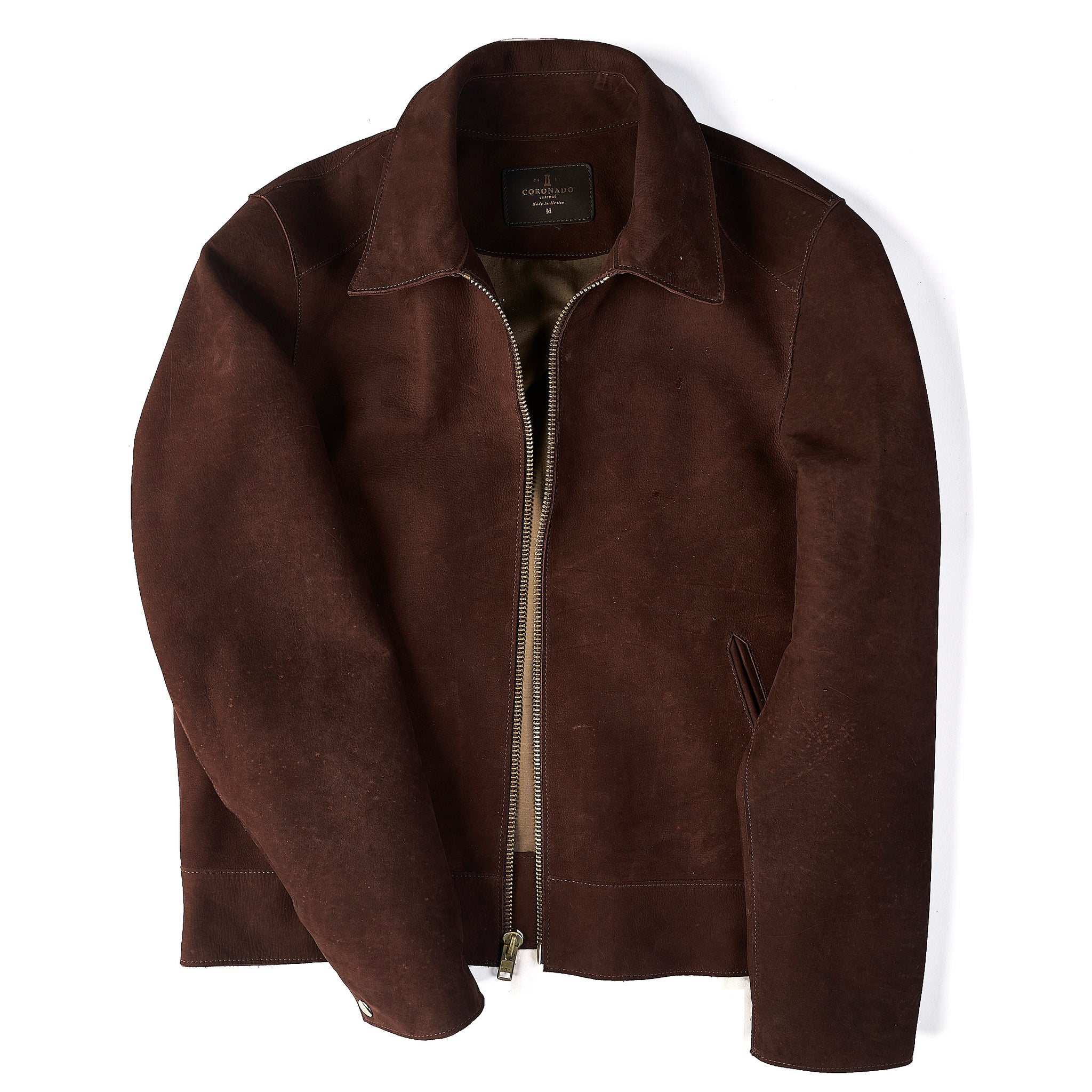 Italian Nubuck Jacket No. 35 (CLOSED)