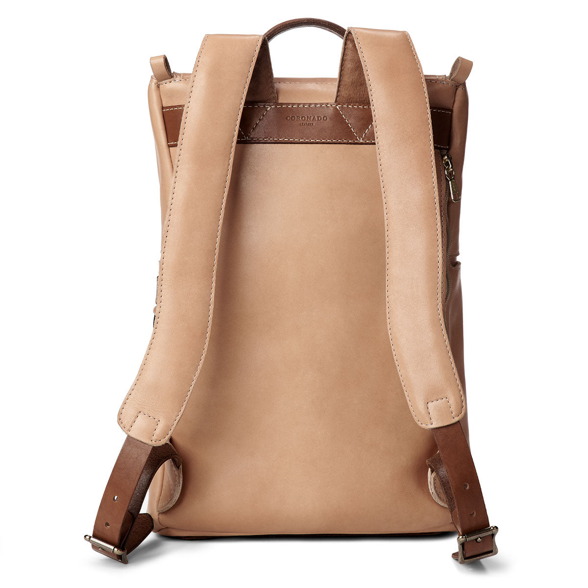 Top Zip Natural Essex Backpack #740