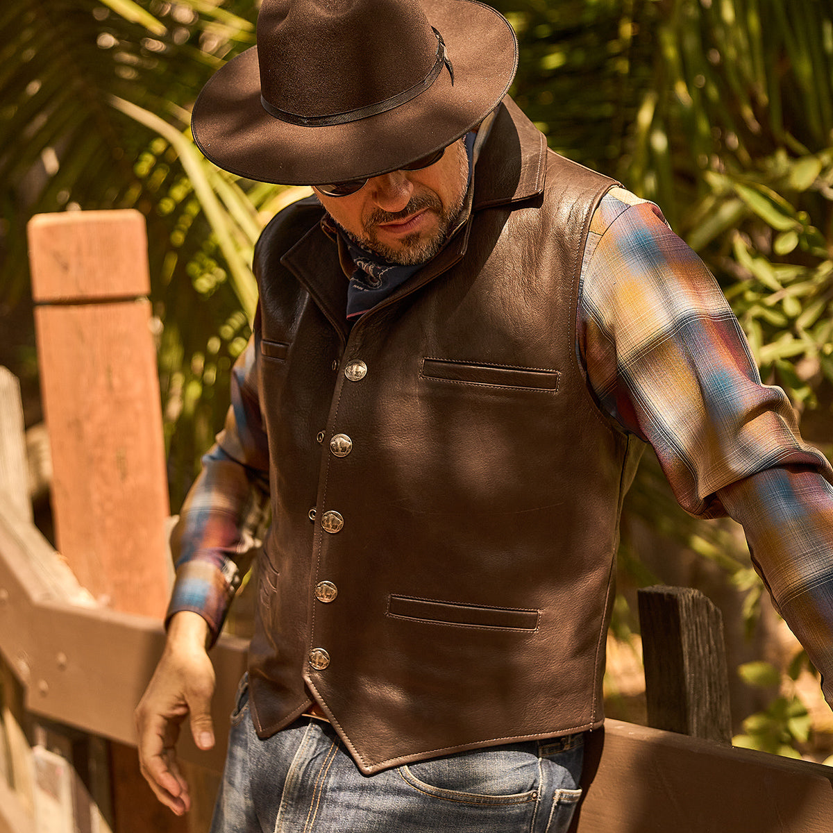 Bison Ranchers Vest No.39