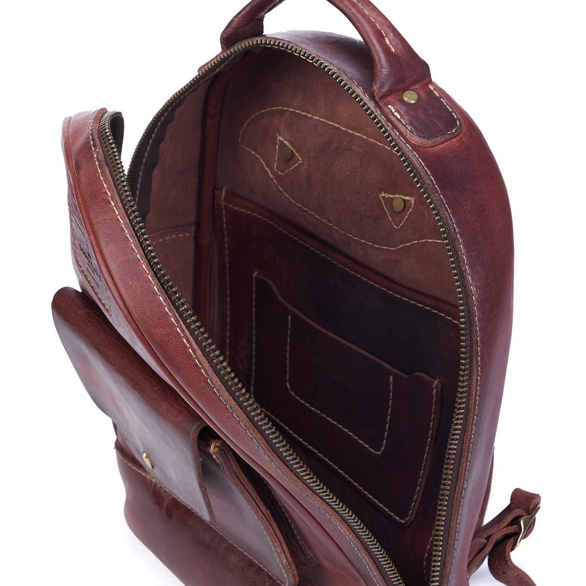 Stone-Washed Backpack #115 (Russet LE)