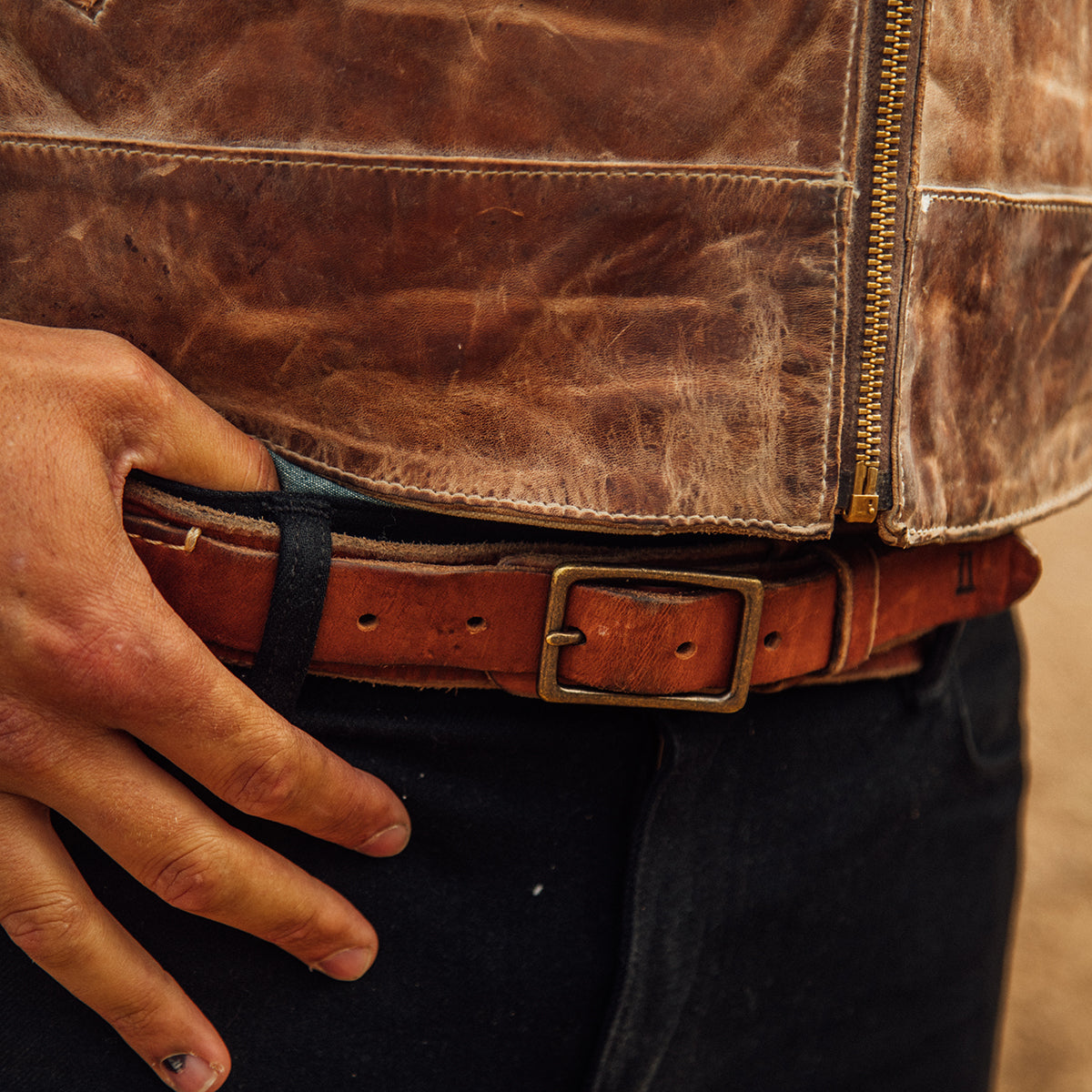 Stone-Washed Ranger Belt No. 280