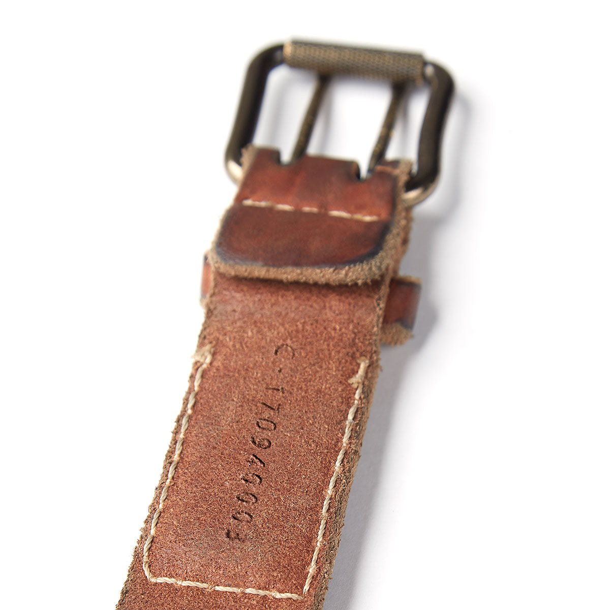 Vintage Stone-Washed Belt #510