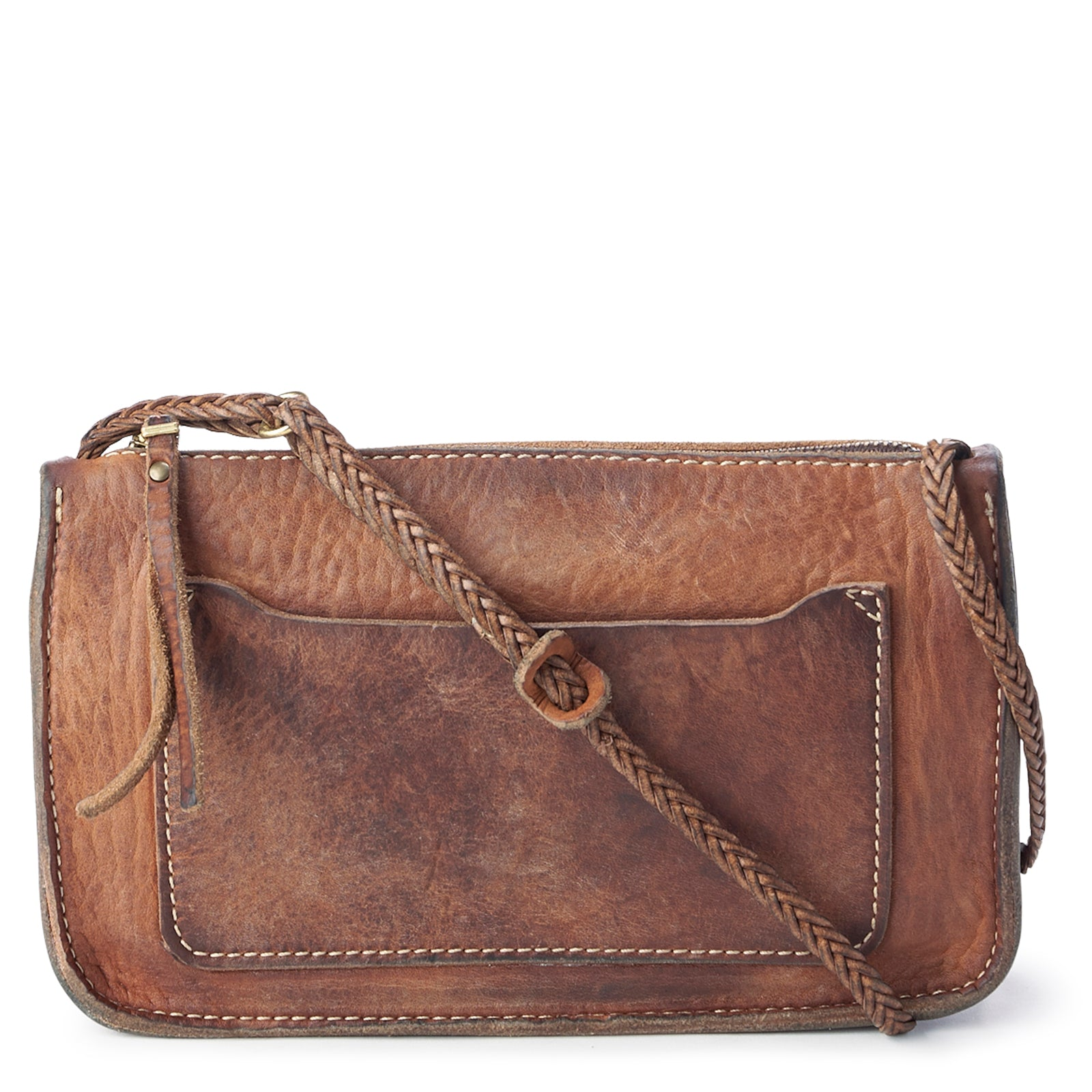 Vintage Stone-Washed Crossbody No.831