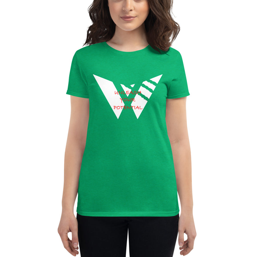 Women's Scrape Logo T-Shirt (Cotton)