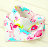 Baby Infant Toddler Triangle Bandana Cotton Bibs - Bullseye Discounts