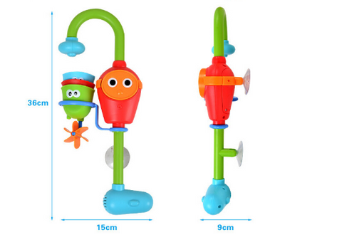 Multicolor Baby Toddler Bath Toy Automatic Spout Showers Toy Faucet ...