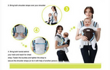 Breathable Multifunctional Front Facing Sling Backpack Pouch Baby Infant Carrier - Bullseye Discounts