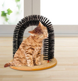 Cat Self-Grooming Scratcher Massage Arch Brush