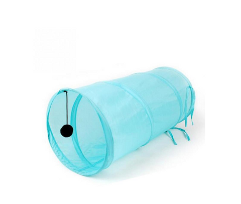 Collapsible Foldable Pet Cat Kitten Tunnel Toy