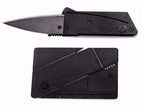 Stainless Steel Credit Card Folding Knife Offer - Bullseye Discounts