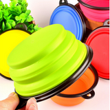 Portable Silicone Collapsible Pet Dog Cat Kitten Feeding Travel Bowls Offer - Bullseye Discounts