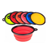 Portable Silicone Collapsible Pet Dog Cat Kitten Feeding Travel Bowls - Bullseye Discounts