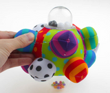 Developmental Bumpy Ball Hand Rattles Training Grasping Ability
