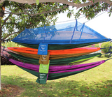Two Person Outdoor Hammock With Mosquito Net Camping Swing - Bullseye Discounts