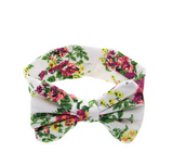 Hair Accessories Flowers Big Bow-Knot Elastic Headband Baby Infant Toddler Girl - Bullseye Discounts