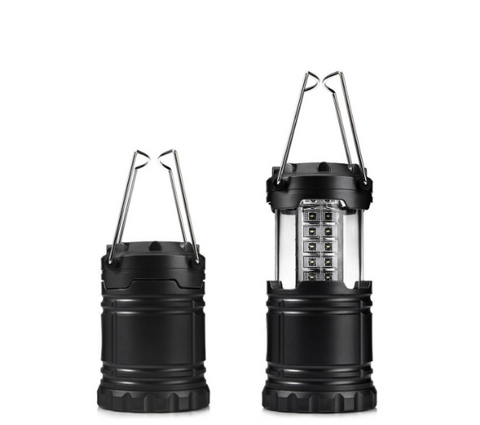 100Lm 30LED Waterproof Shockproof Collapsible Portable Camping Lantern - Bullseye Discounts