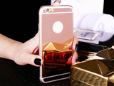 Ultra Slim Electroplating Mirror Soft Case For Iphone 6, 6S, 6 Plus, 6S Plus, 7, 7 Plus - Bullseye Discounts