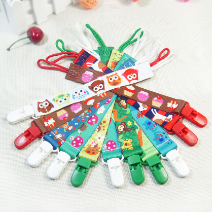 Baby Infant Toddler Pacifier Clips - Bullseye Discounts