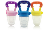 Portable Infant Baby Food Silicone Pacifier Feeder