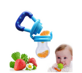 Portable Infant Baby Food Silicone Pacifier Feeder - Bullseye Discounts