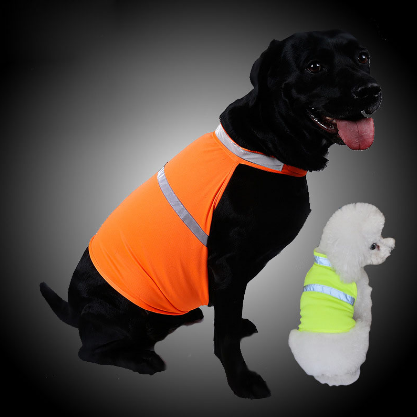 Dog Waterproof Fluorescent Reflective Safety Vest - Bullseye Discounts