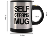 Automatic Electric Self Stirring Coffee Cup Mug - Bullseye Discounts