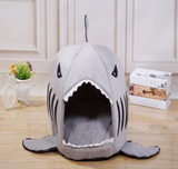 Pet Shark Sleeping House Bed Cat Kitten Dog - Bullseye Discounts