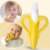 Infant Baby Silicone Banana Toothbrush Offer - Bullseye Discounts