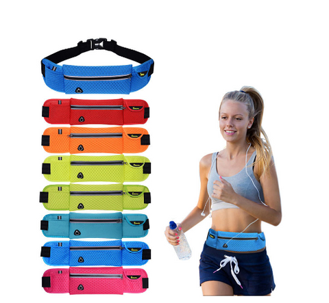 Nylon Waist Belt Bag Pack - Bullseye Discounts