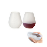 Unbreakable Foldable Silicone Wine Beer Glasses - Bullseye Discounts