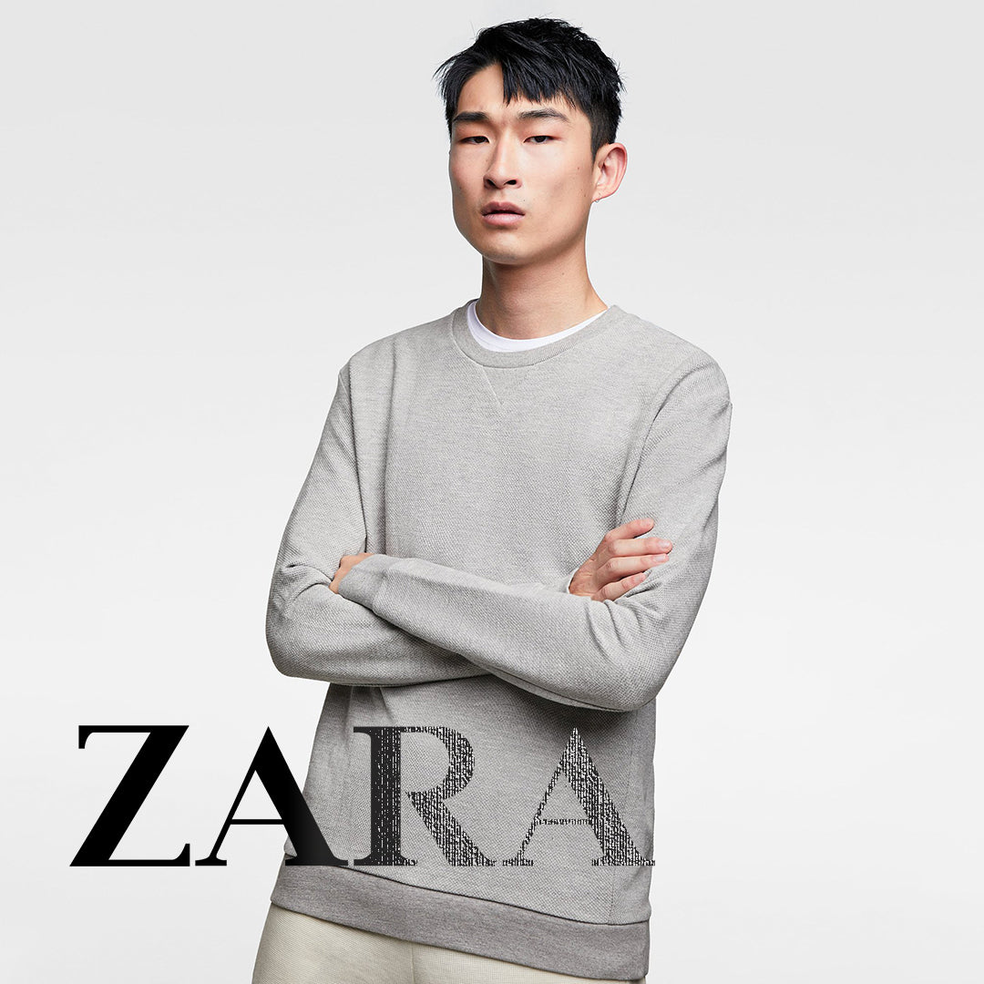 61e216cc0 ZARA | MAN | Basic Sweatshirts. Available in 4 colors.