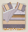 SCOTT HONEYCOMB COTTON DUVET COVER