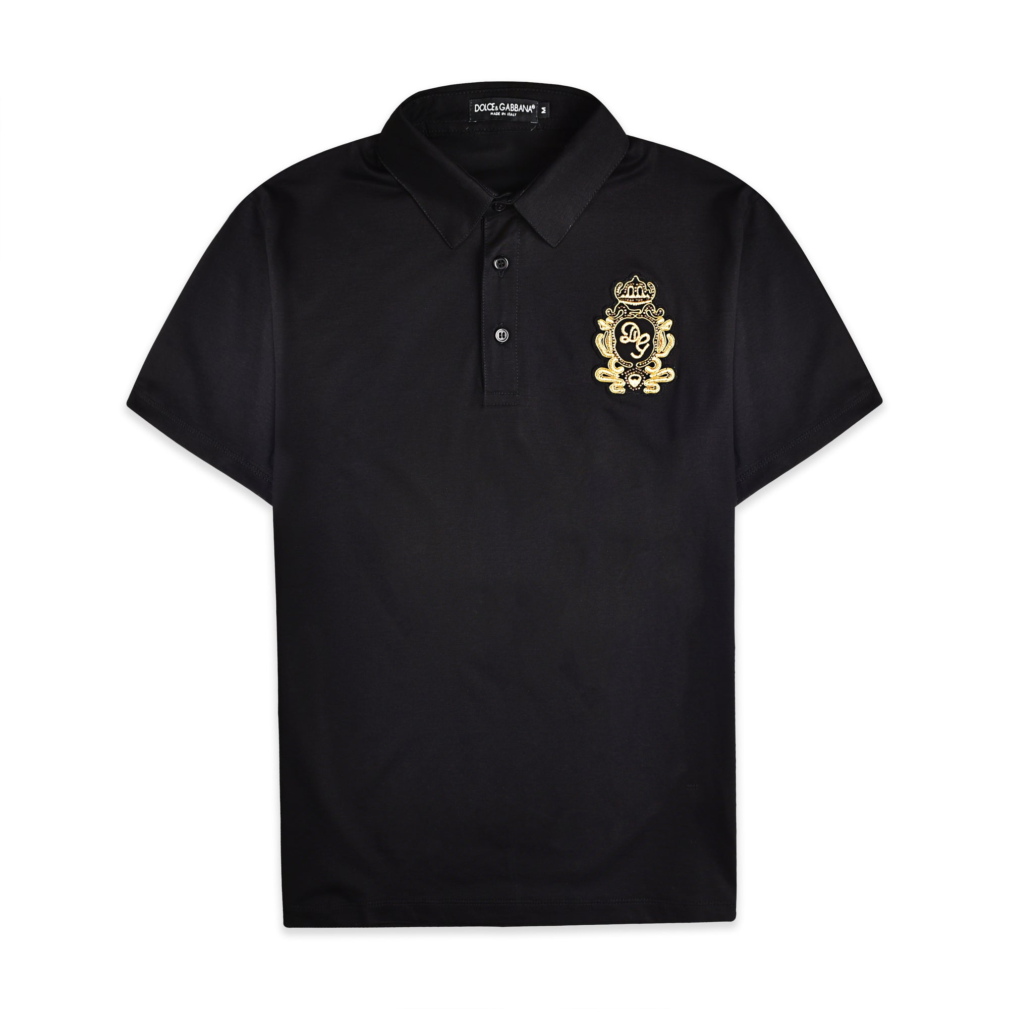 COTTON POLO-SHIRT WITH DG PATCH