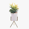 FAUX PLANTER WITH TRIPOD