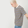 ANTICIPATION STRIPES KNIT T-SHIRT