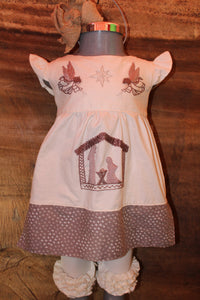 Nativity Dress with Sash - Past Winter Release