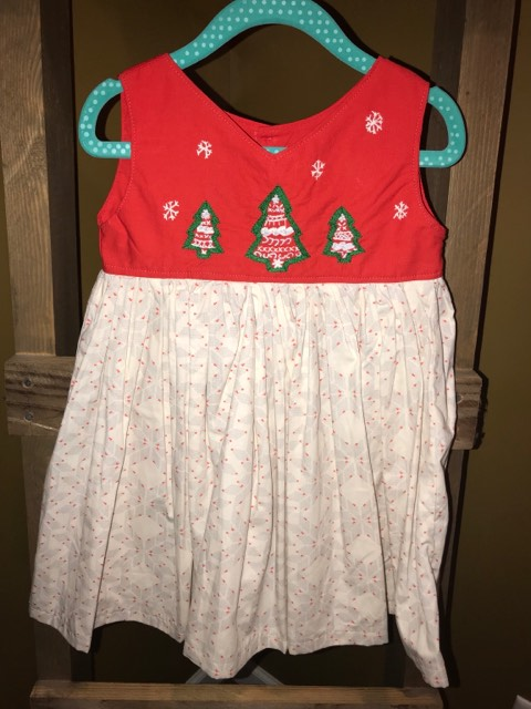 Fancy Fair Isle Christmas w/o Sash - 3T