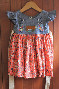 Fancy on the Farm - Twirl Skirt Dress - 18-24m - RTS