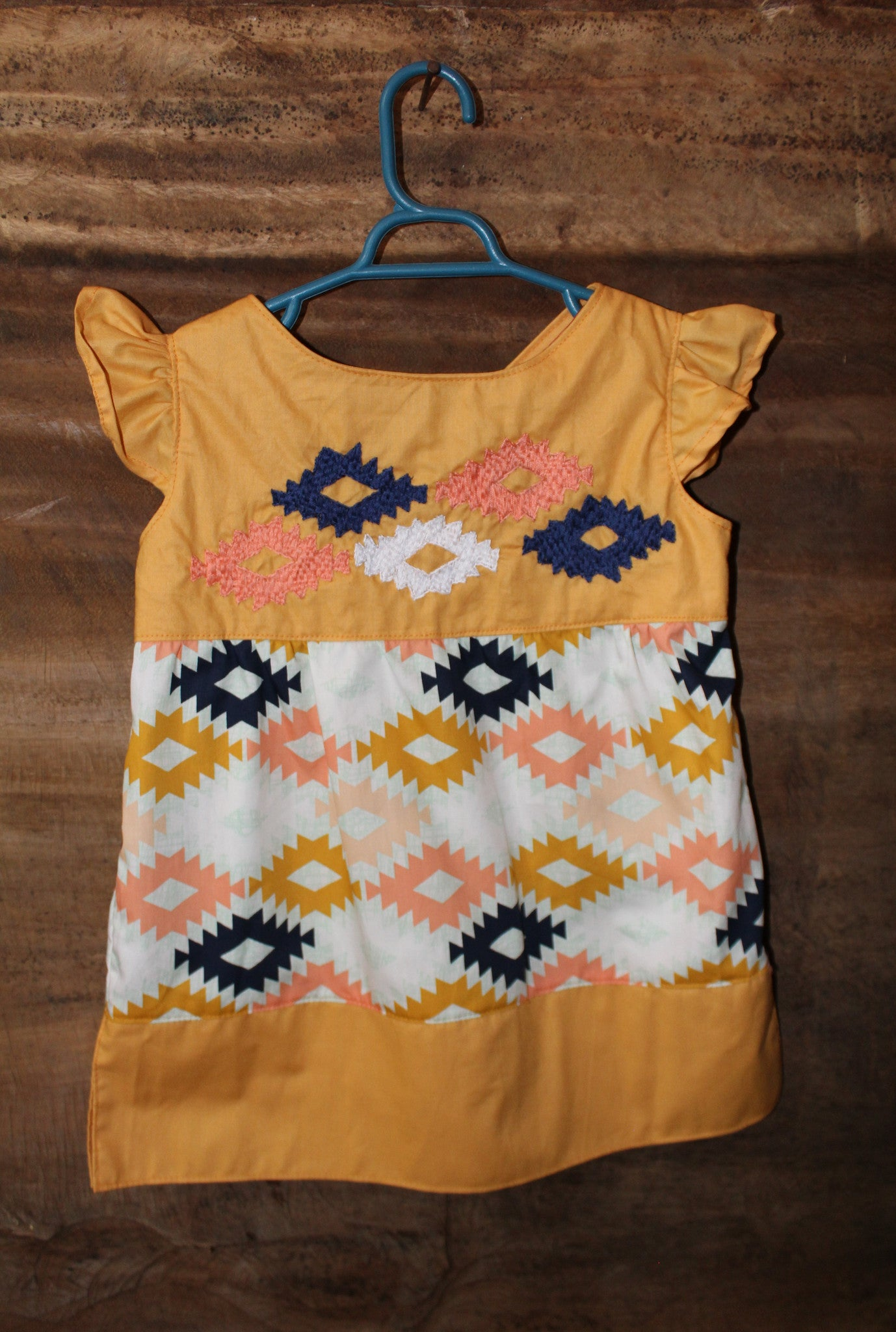 Oaxacan Top - Aztec Detail - Past Winter Release